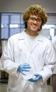 Matt in the CeBER labs (Copy)