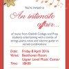 INVITE Music Soiree