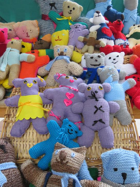 Knitted Teddy Bear Drive