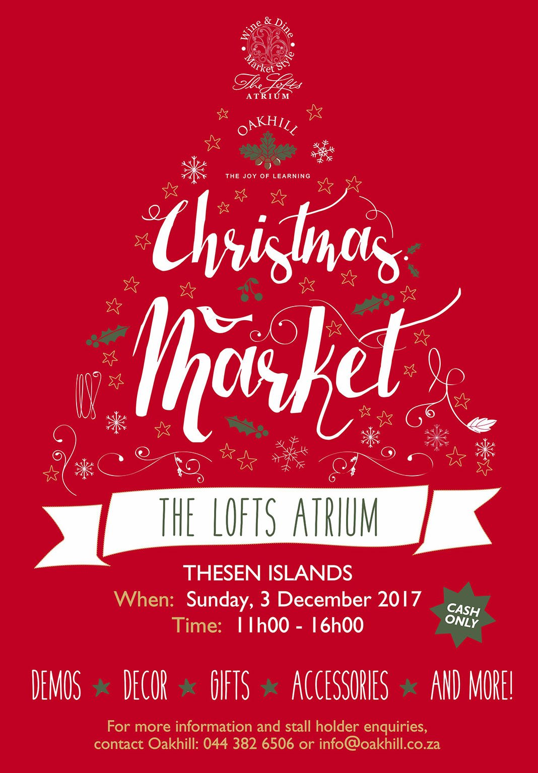 Christams Market Poster 2017 web