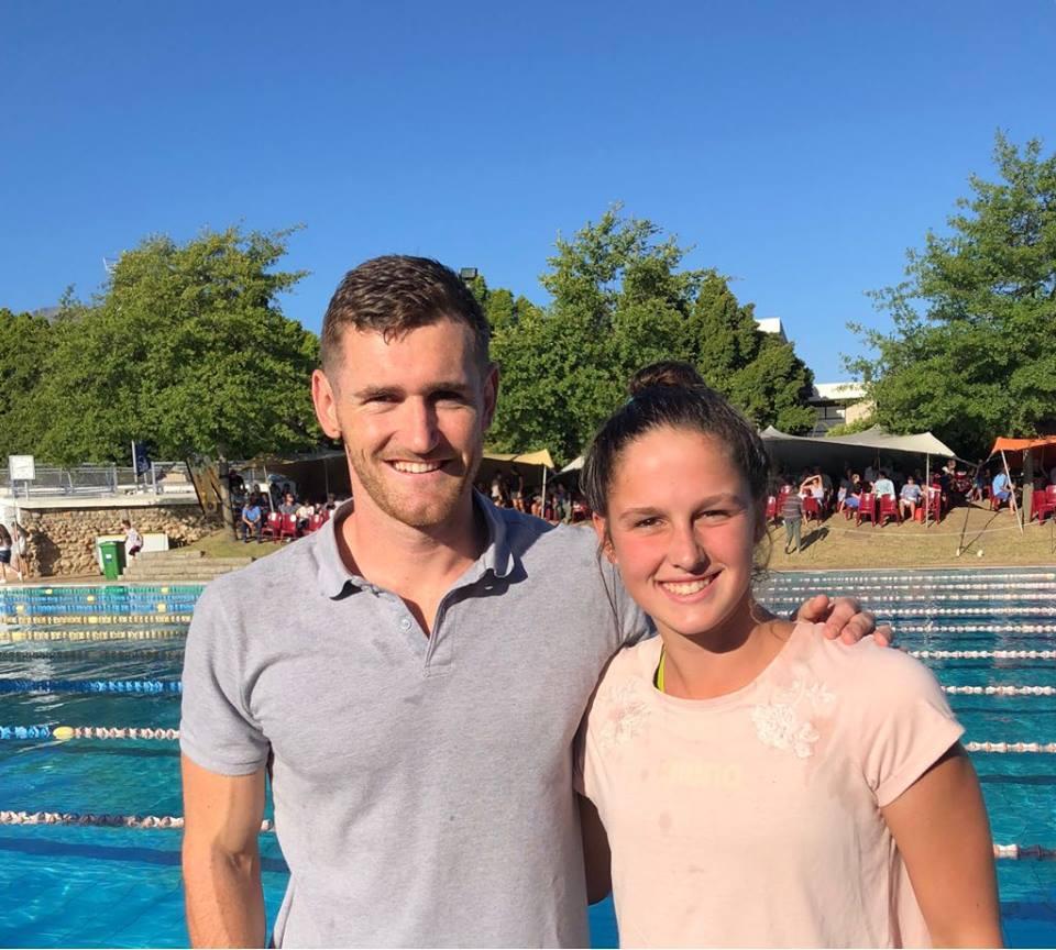 Aimee Canny breaks SA record