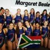 Hannah Verrier with the SA U16 girls team
