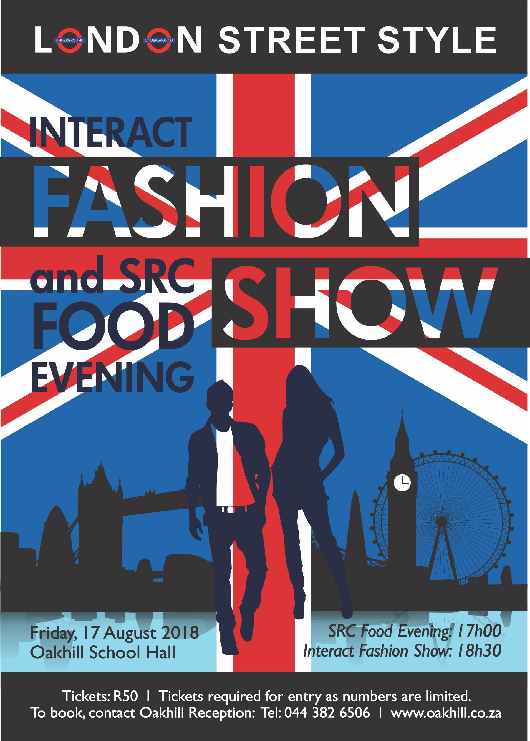 Interact Fashion Show_Poster