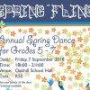 Spring Fling Poster 2018 (Widget)