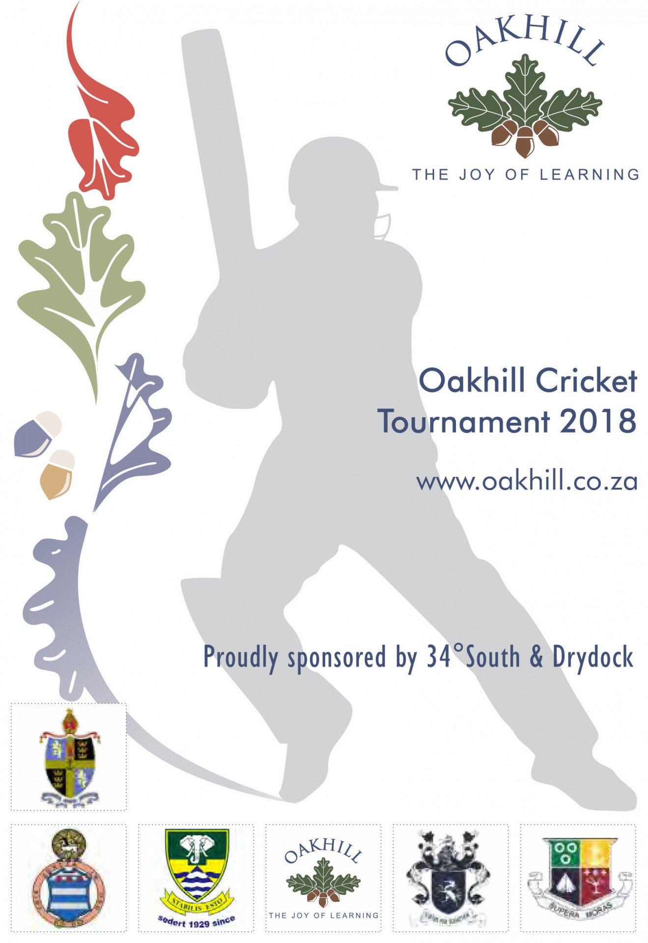 Oakhill Cricket Tournament 2018_Programme.cdr