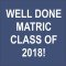 MATRIC 2018 WIDGET