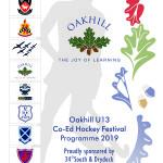 Oakhill U13 Co-Ed Hockey Festival 2019_Front Cover