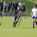 Alex Hunziker, captain of the Oakhill U16A Boys Team, outruns his rivals (Copy)