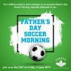 Fathers Day Soccer Invite web