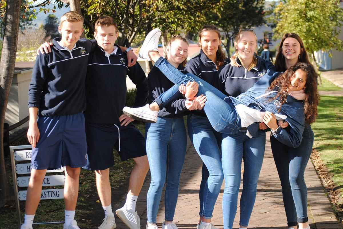 German and Argentinian Exchange Students 2019