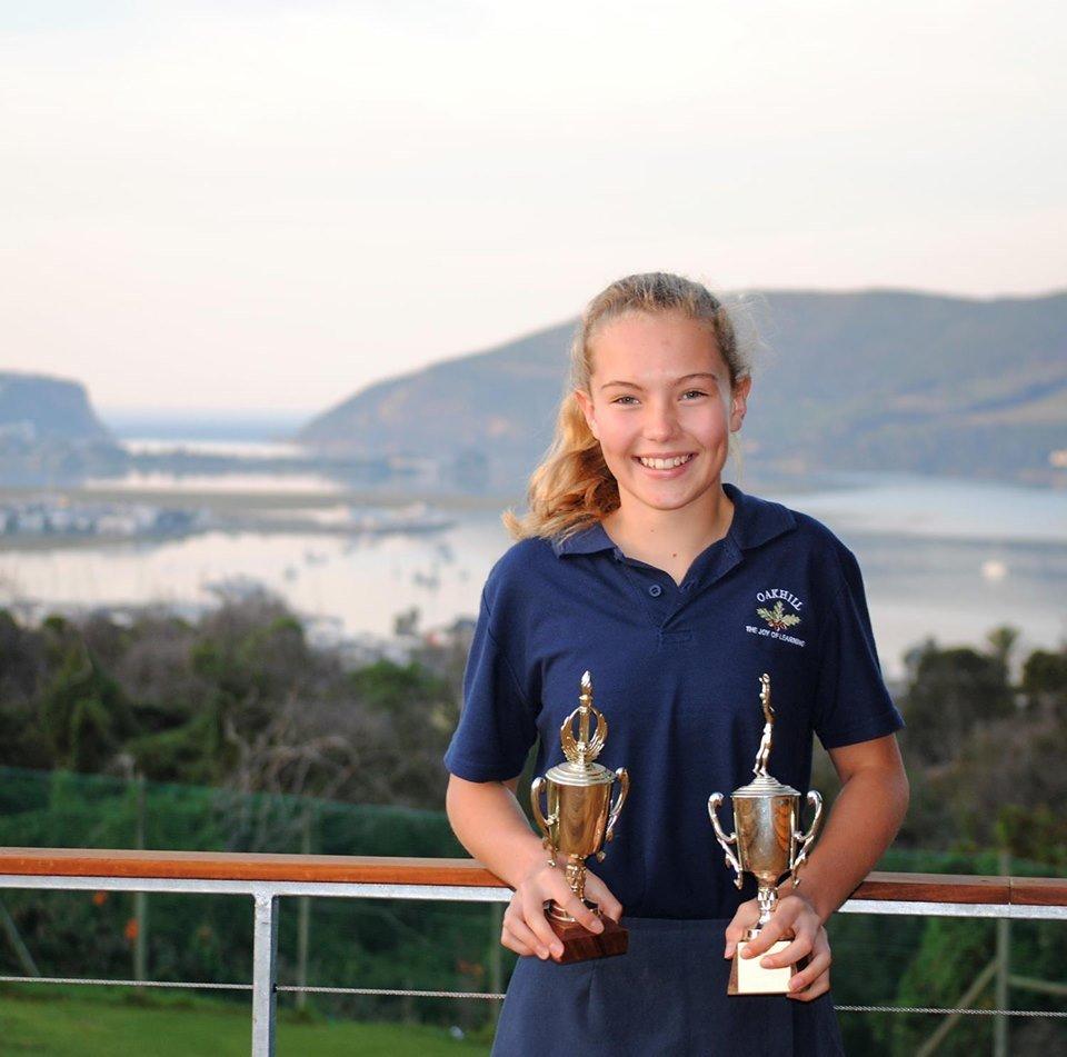 Oakhill School - Rebecca Pitout - Eden Aquatics Awards