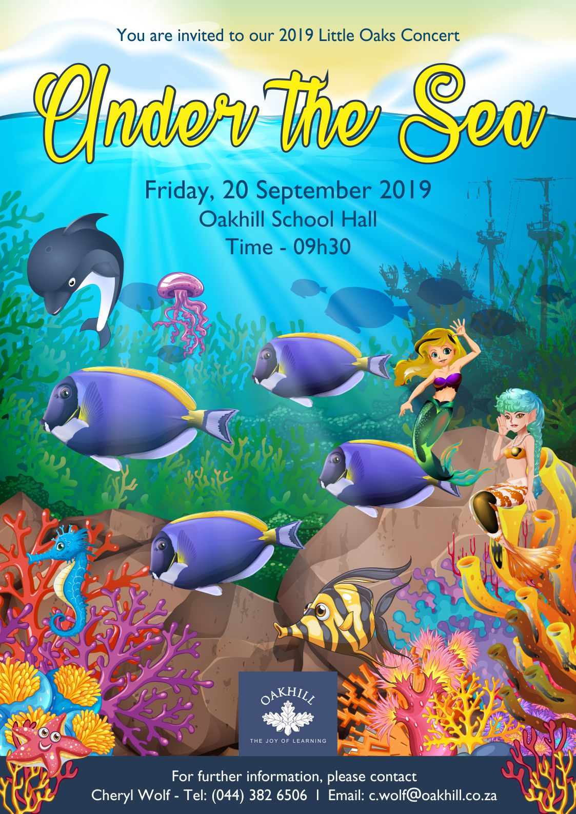 Little Oaks Concert - Under the Sea
