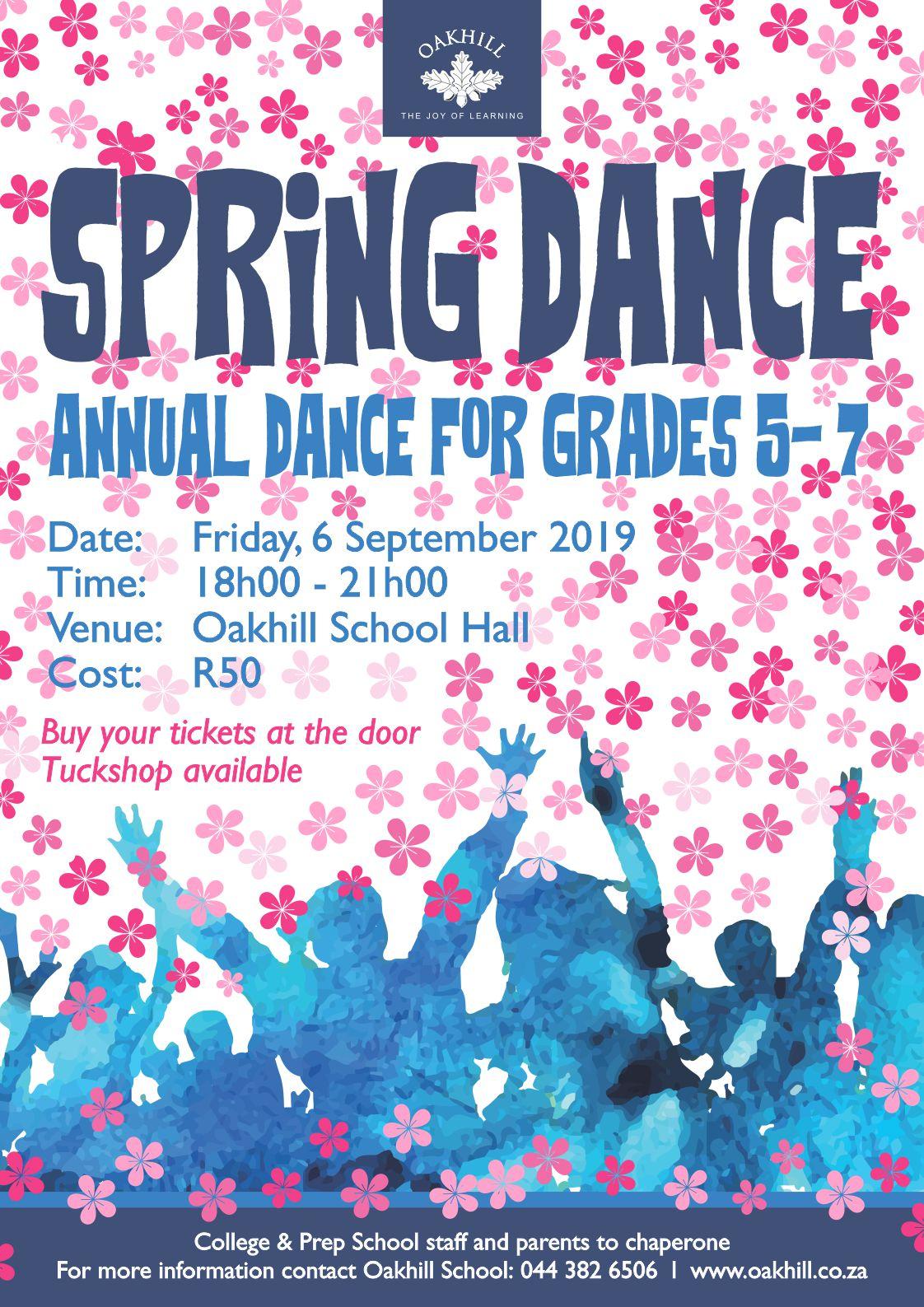 Spring Dance Poster 2019
