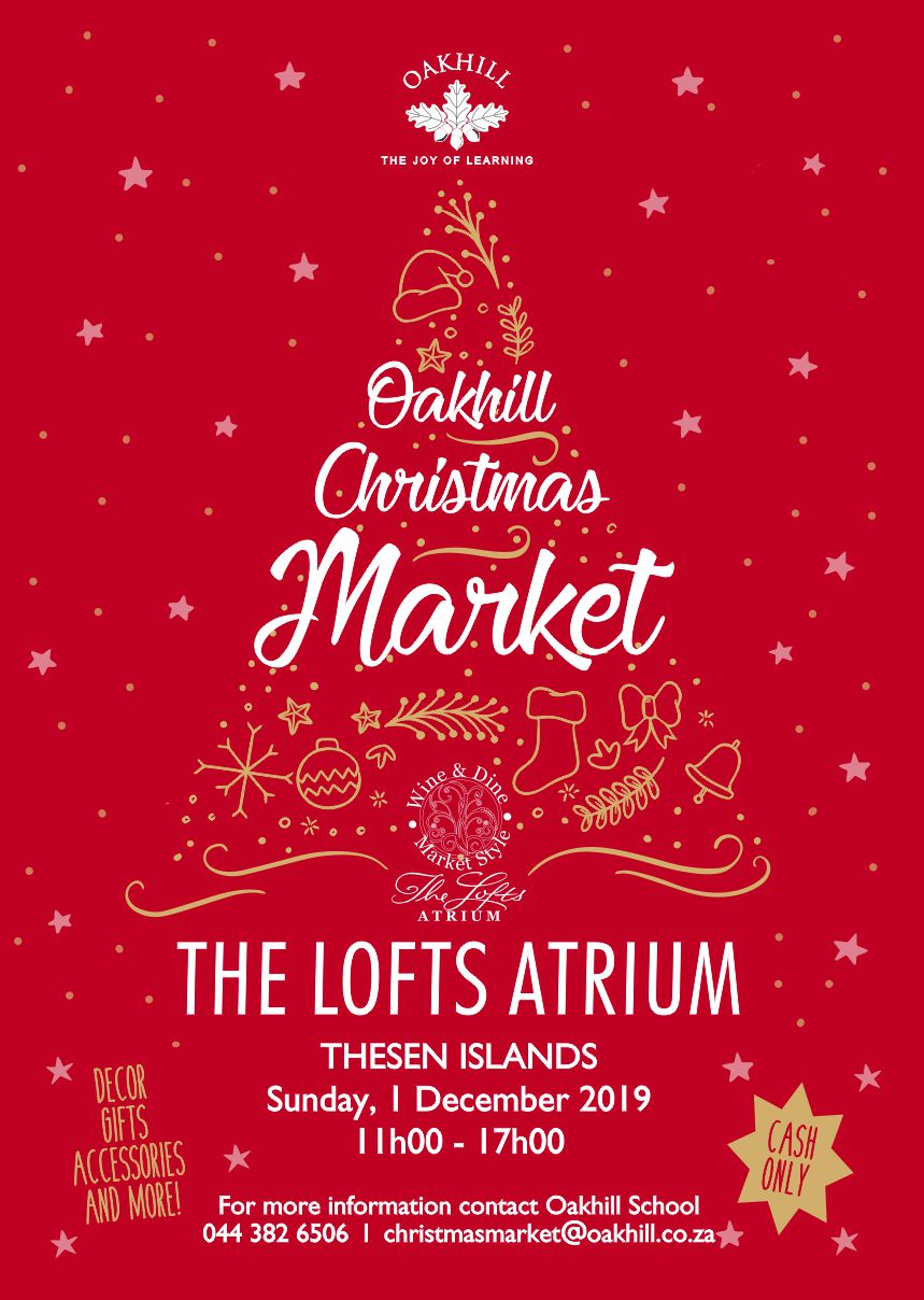 Christmas Market Poster 2018 RED