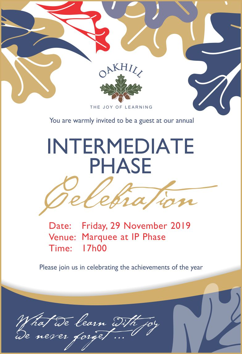 Invite IP Celebration 2019